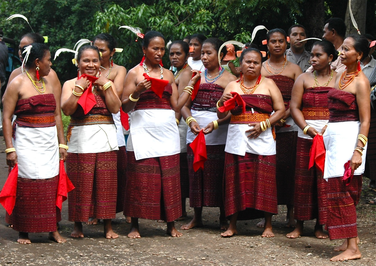 Lamaholot Women in East Flores - Indonesia