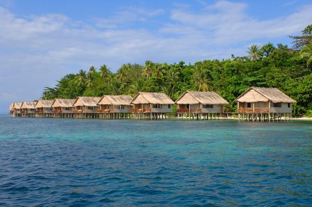 Papua Paradise, the resort