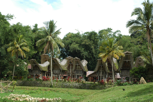 Toraja traditional village