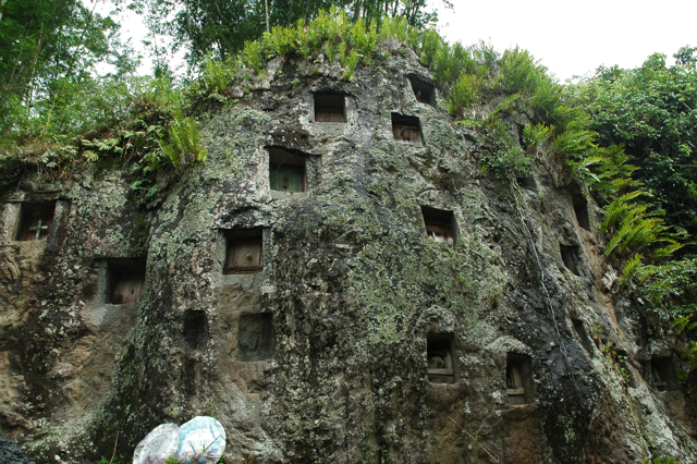Toraja burial places