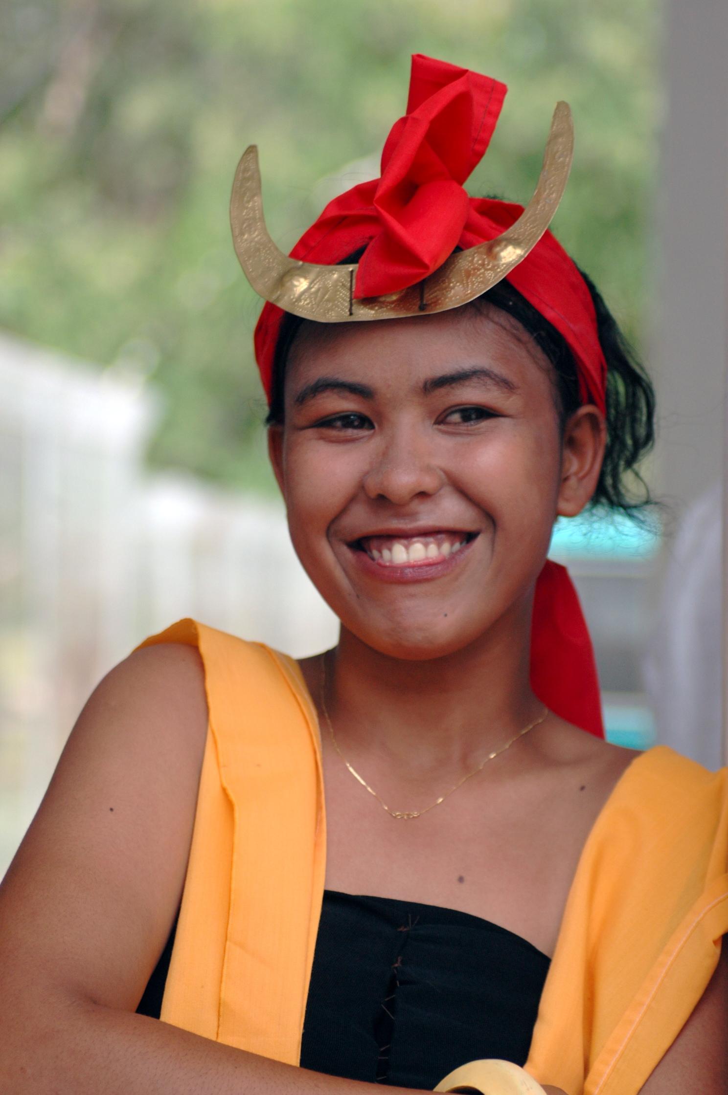 Sumba traditional costume