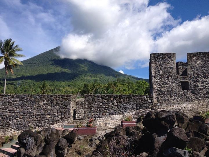 Fort in Tidore Island