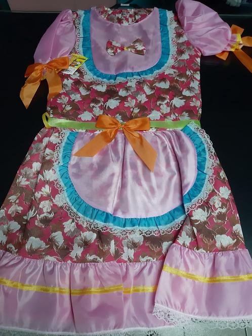 Vestido Festa junina Tamanho 16