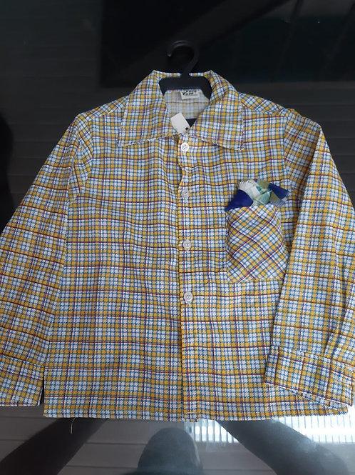 Camisa Festa Junina Infantil Tamanho P
