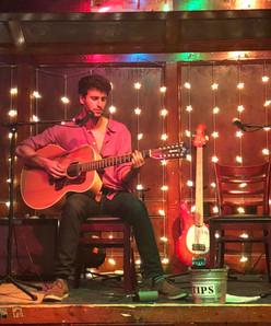 Aylon playing 12 string guitar
