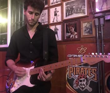 Aylon playing guitar solo