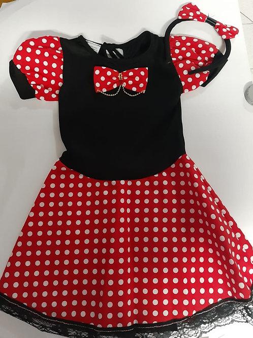 Fantasia Infantil Minnie