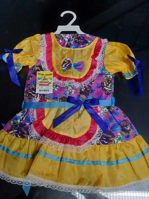Vestido Festa Junina Tamanho 2