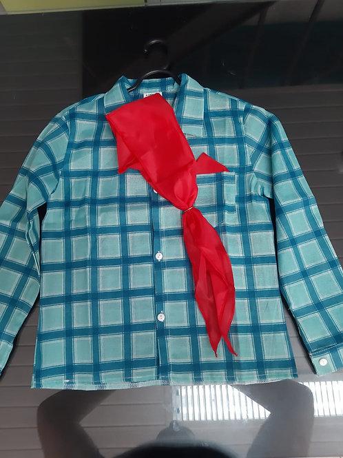 Camisa Festa Junina Infantil Tamanho 8