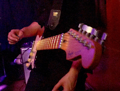 Guitar in angel