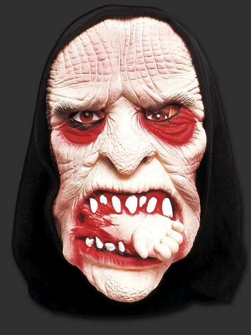 Máscara Spook Bruxa Canibal