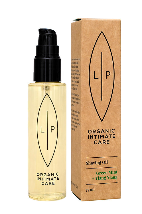 Shaving Oil, Green Mint + Ylang Ylang, 6-pack
