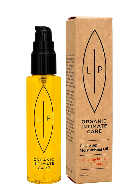 Cleansing + Moisturising Oil, Sea Buckthorn + Fragonia