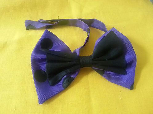 Dots of Desire Bow Tie in Sapphire