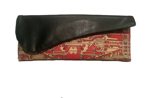 Bettie Lou's Gun Clutch in Faux Leather