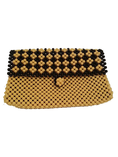 Reti for a Knight out Beaded Clutch