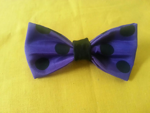 Dots Amore Bow Tie in Sapphire