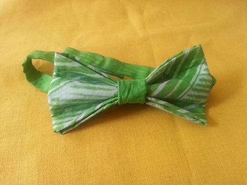 Grass is Always Greener Bow Tie in Green