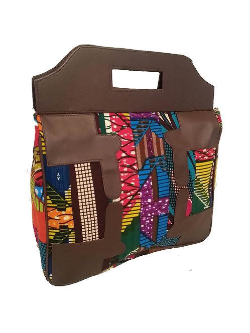 Can't Box me in Handbag in Multicolor