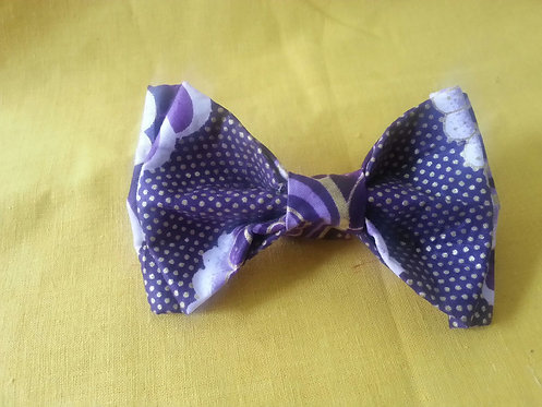 Star Gazing Bow Tie in Navy
