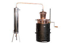 Distilator bakri me perzieres + ftohes inox