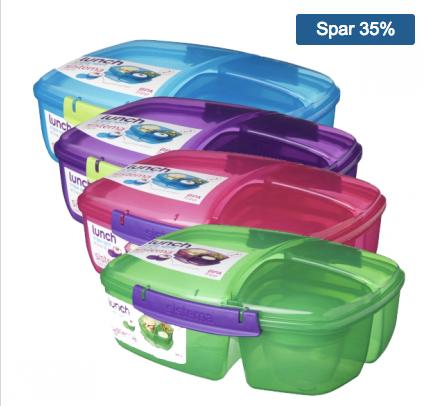 ibob.dk sistema triple split lunchbox meal prep