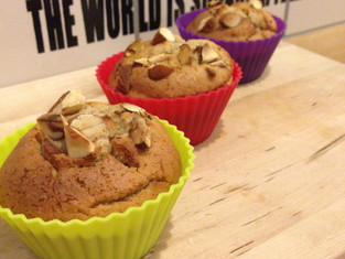 French Toast Protein Muffins