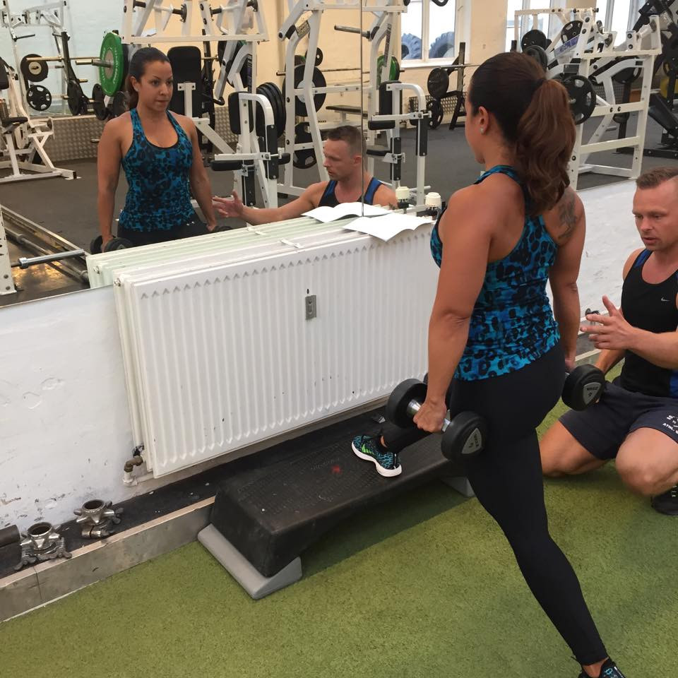 personal trainer in Copenhagen