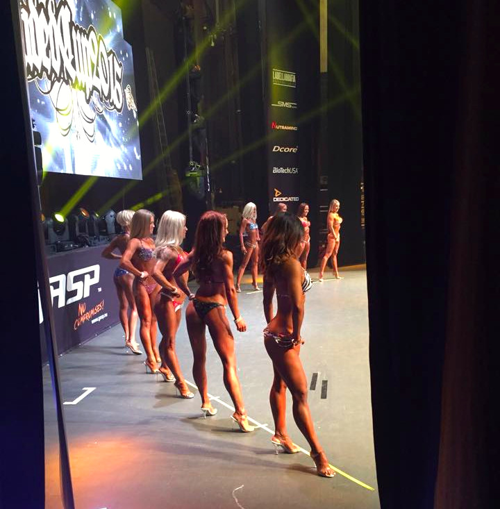 Loaded cup 2015 on stage prejudging