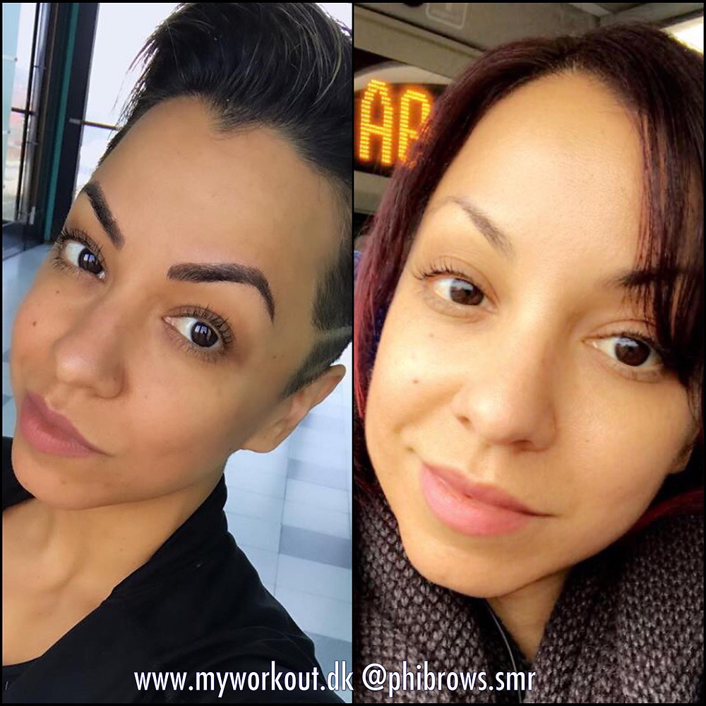 Final Before & After brow picture
