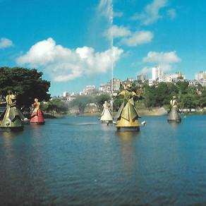 Famosas esculturas dos Orixás em Salvador, estão abandonadas