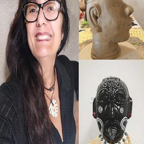 Sonja Asiwajo, a artista com a sensibilidade das tradições tribais