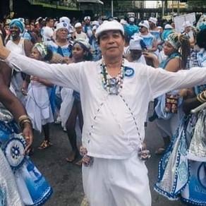 Falece Carlos Kroff, Presidente do Afoxé Filhos de Gandhi do Rio de Janeiro