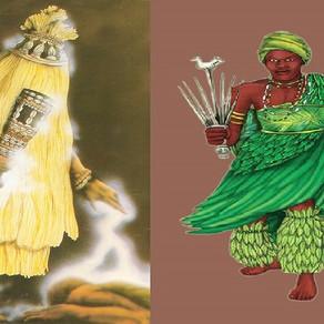 A cura vem por Ọmọlu, com o remédio de Ọ̀sányìn