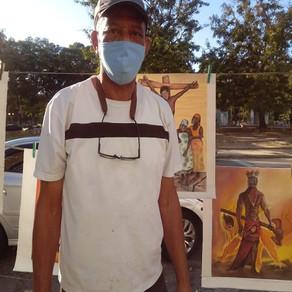 A arte de um filho de Xangô nas ruas do Rio