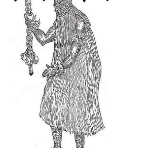 Ọfọ̀lè, o senhor das magias comanda o astral da semana