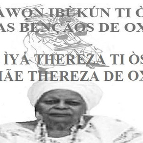 Mãe Tereza, o esplendor que vem de Oxalá