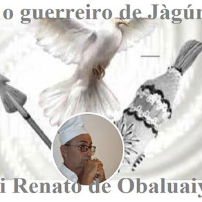 Lembrando a força de Pai Renato de Obaluaiyê