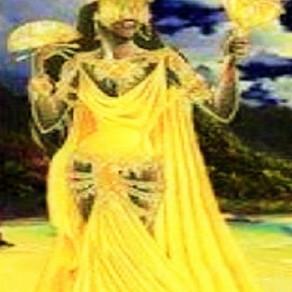 Dandalunda, a senhora da fertilidade, no astral da semana