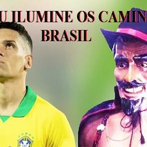 """""""Que Exu Ilumine o Brasil"""" diz Paulinho da Seleção Olímpica"""