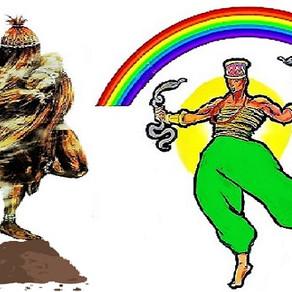 Agosto, com o desapego de Ọmọlu e o poder de Òṣùmàré