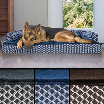 Plush Orthopedic Dog Bed
