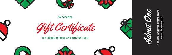 Child Ticket Gift Certificate
