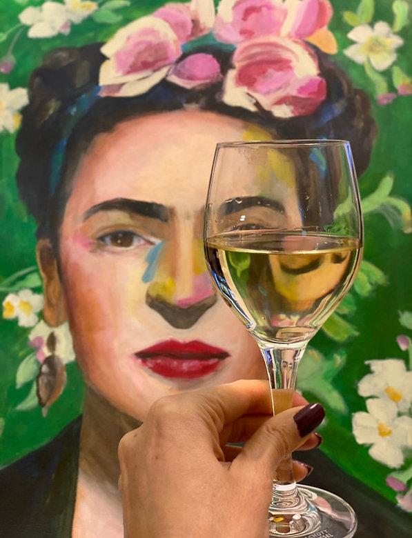 Frida Kahlo by Maricela Del Rio