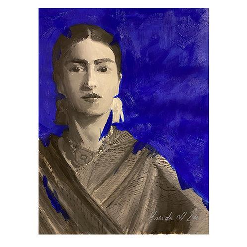 Frida Blue by Maricela del Rio