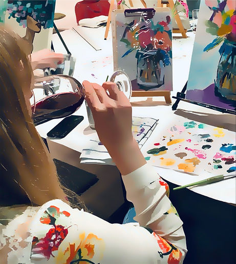 Painting and Wine Workshop Brussels