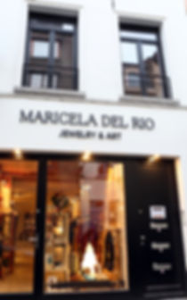 Jewely and Art Store Brussels Begium Maricela del Rio