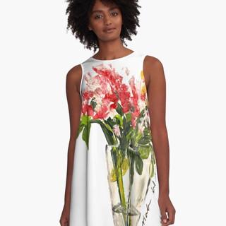 El Jarron A-Line Dress