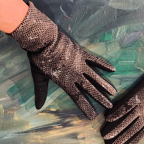 Snake Winter Gloves