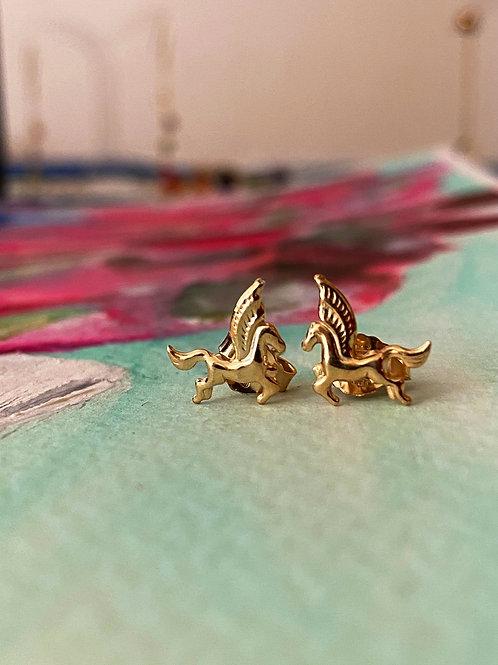 Boucles d'oreilles pegasus